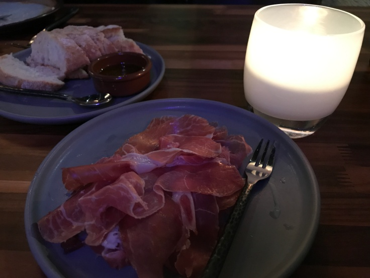 Start Your Engines - A Sumptuous Plate of Pata Negra Jamón Ibérico de Bellota at Asa in Los Altos, California