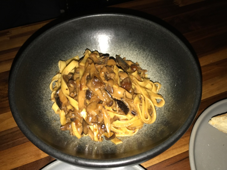 Eight Kinds of Exotic Mushrooms (Including Chanterelles) Take Center Stage in Pasta at Asa in Los Altos, California