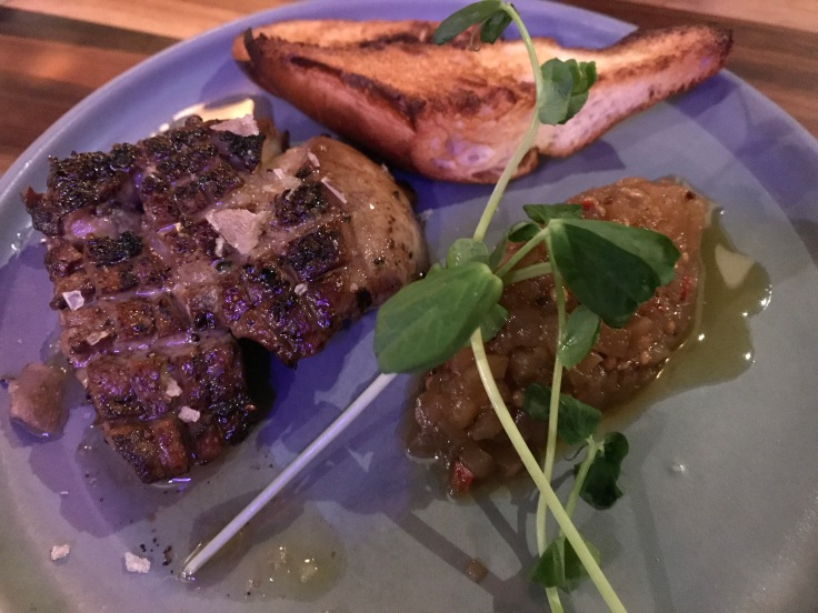 Asa in Los Altos, California Often Features Specials Like This Foie Gras Appetizer