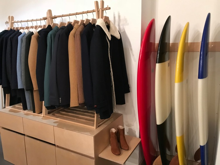 Forget Breton Striped Shirts, True Frenchies Reach for Cuisse de Grenouille's Surfer Inspired Clothes in Paris, France