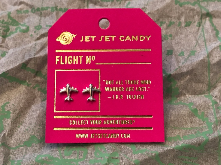 "Up, Up and Away - Jet Set Candy's Signature ""Take Flight"" Earrings in 925 Solid Sterling Silver"