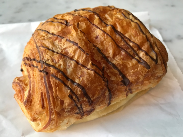 No Pain, No Gain - A Pain au Chocolat (or Chocolate Croissant) at Pamplemousse in Redwood City, California