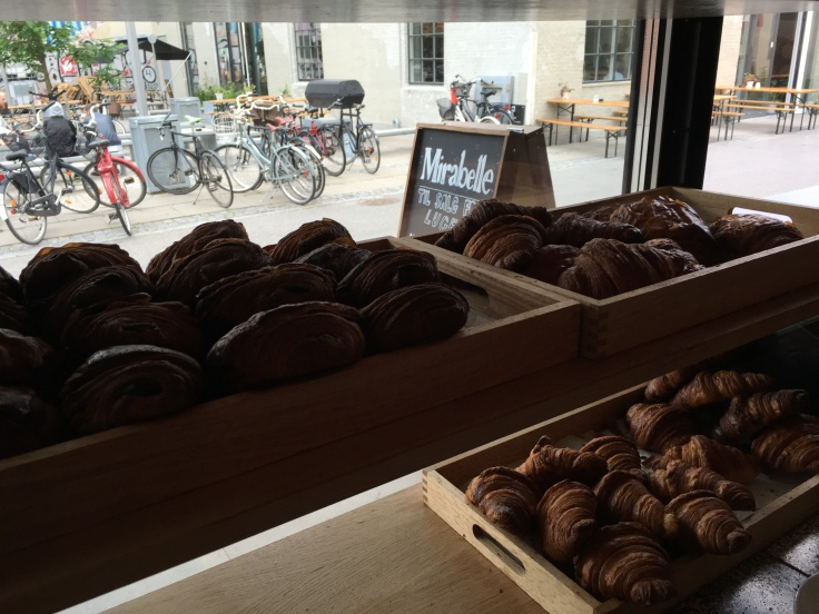 Legit Danish Danish at Mirabelle Bakery in Copenhagen, Denmark