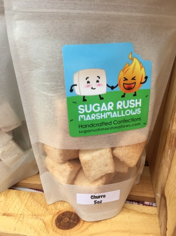 Churro Flavored Marshmallows by Orlando Based Sugar Rush Marshmallows