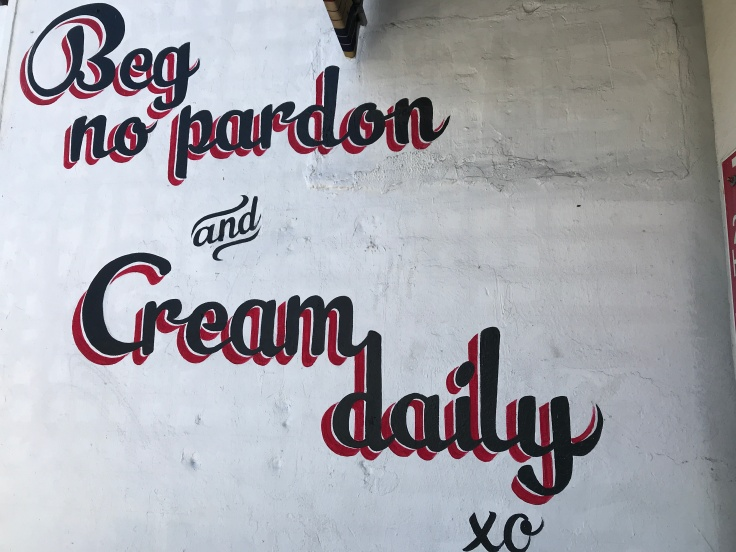 Cream Parlor is the Perfect Blend of Hipster Charm and Old School Ice Cream Shop in Miami, Florida