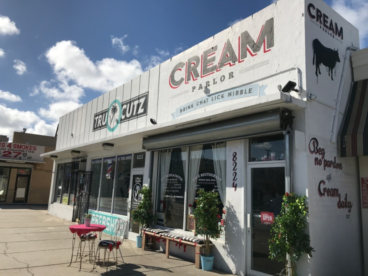 Cream Parlor in Miami, Florida