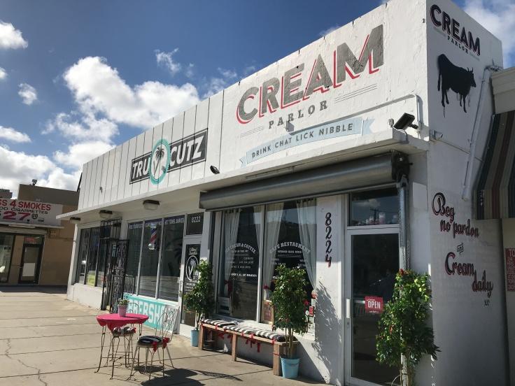 Cream Parlor in Miami, Florida