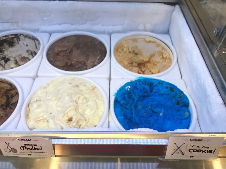 "Cookie Monster Worthy Ice Cream - ""C"" is for Cookie at Cream Parlor in Miami, Florida"