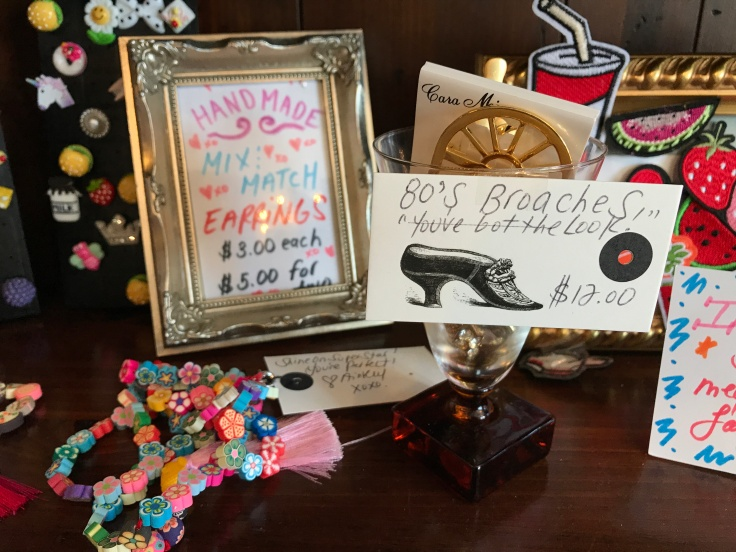 The '80s Are Calling - Vintage Broaches and Handmade Jewelry is Also Sold at Cream Parlor in Miami, Florida