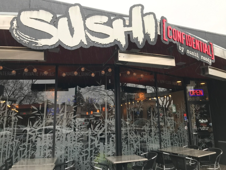 Sushi Confidential in Campbell, California