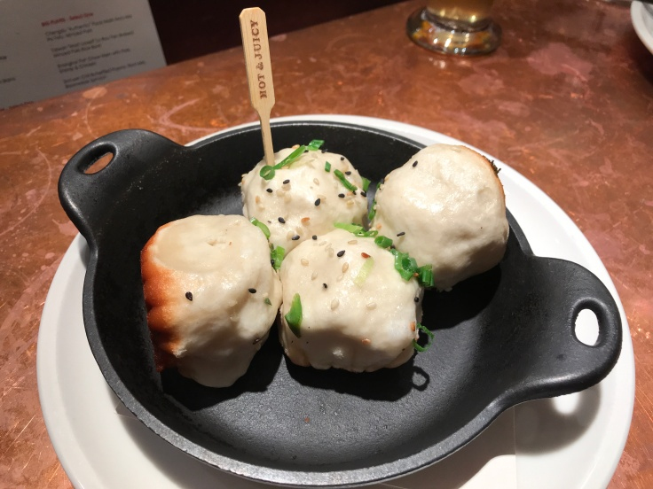 "Hot & Juicy - Sheng Jian Bao ""SJB"" Pan Fried Pork Dumplings at China Live in San Francisco, California During SF Restaurant Week 2018"