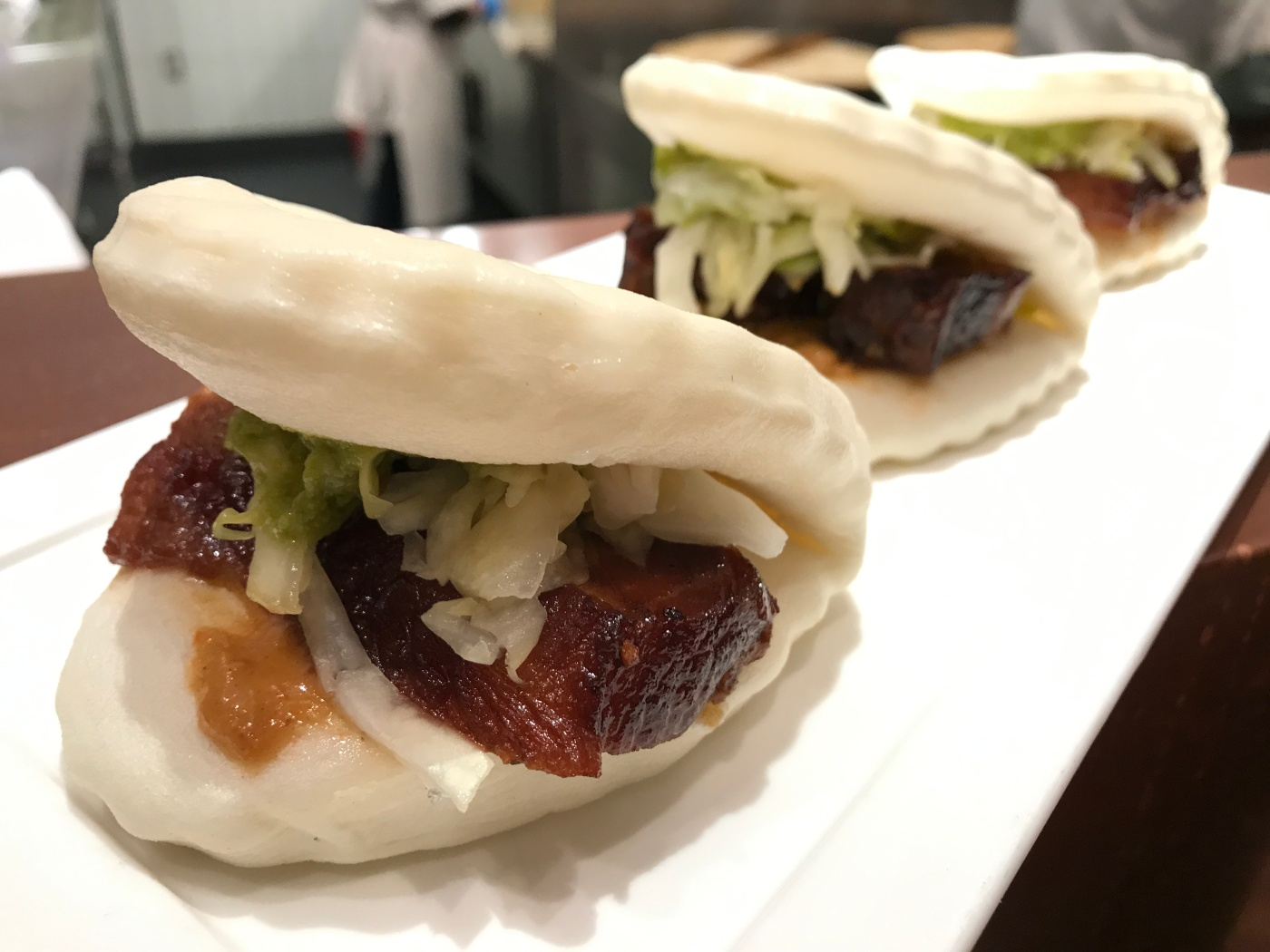 Pork Belly Lotus Buns at China Live in San Francisco, California During SF Restaurant Week 2018