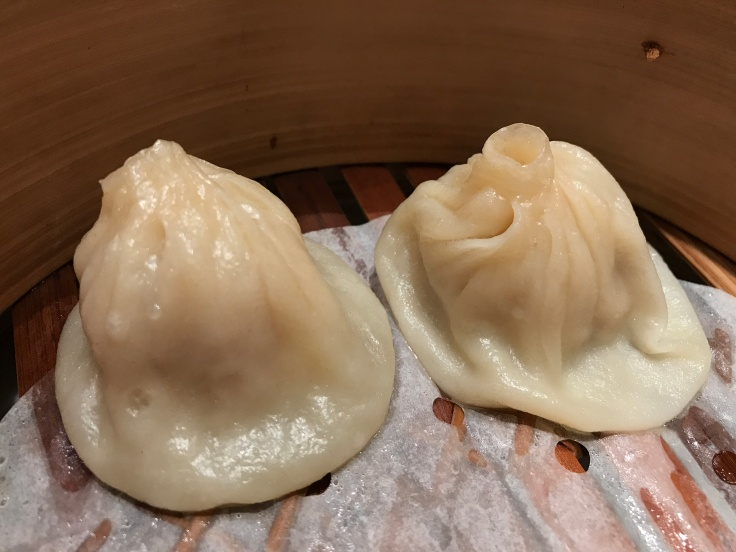 "Xiao Long Bao ""XLB"" Served with a Rich Consommé at China Live in San Francisco, California During SF Restaurant Week 2018"