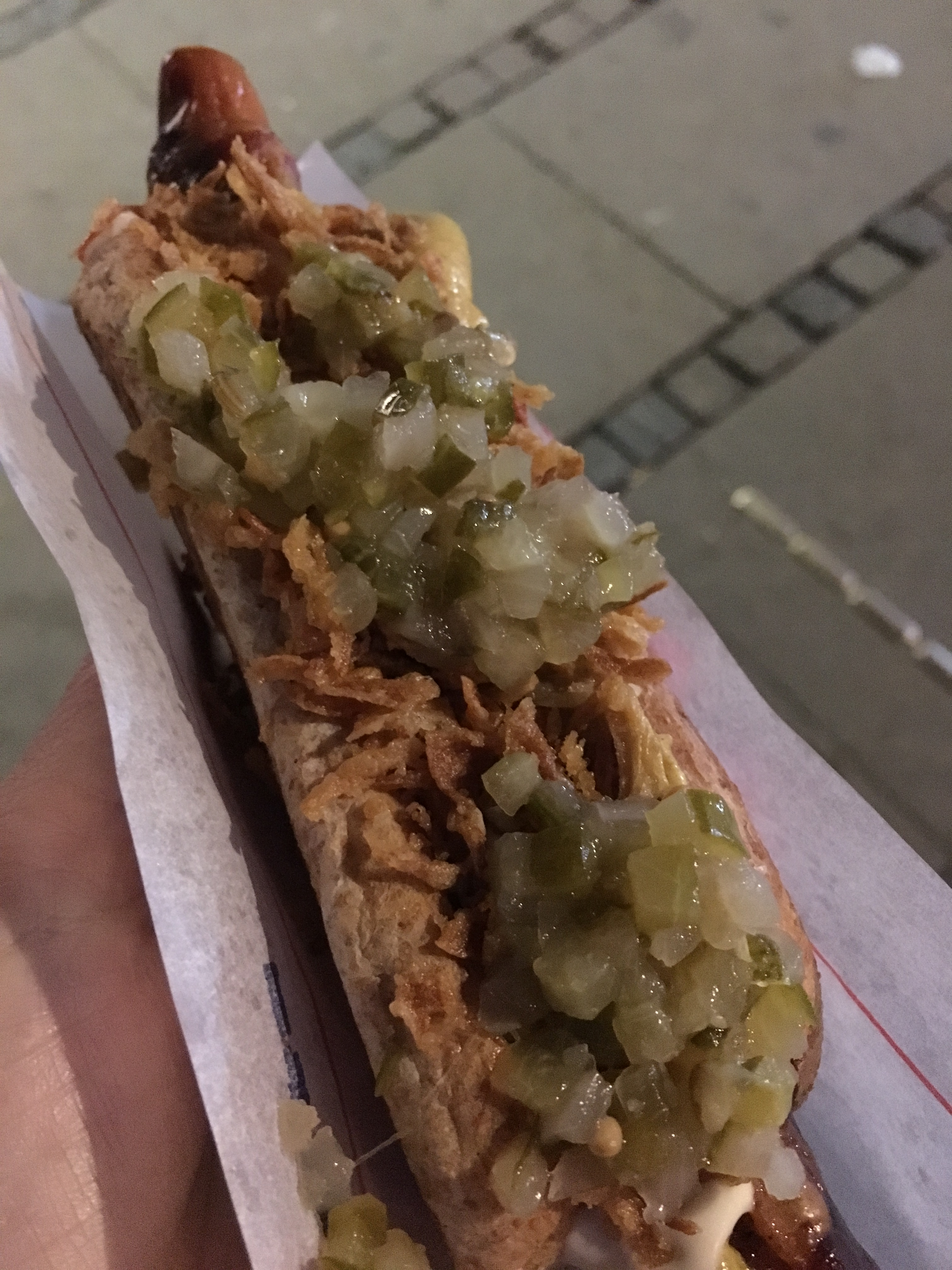 Hot Diggity Danish Dog – Johns Hotdog Deli in Copenhagen, Denmark