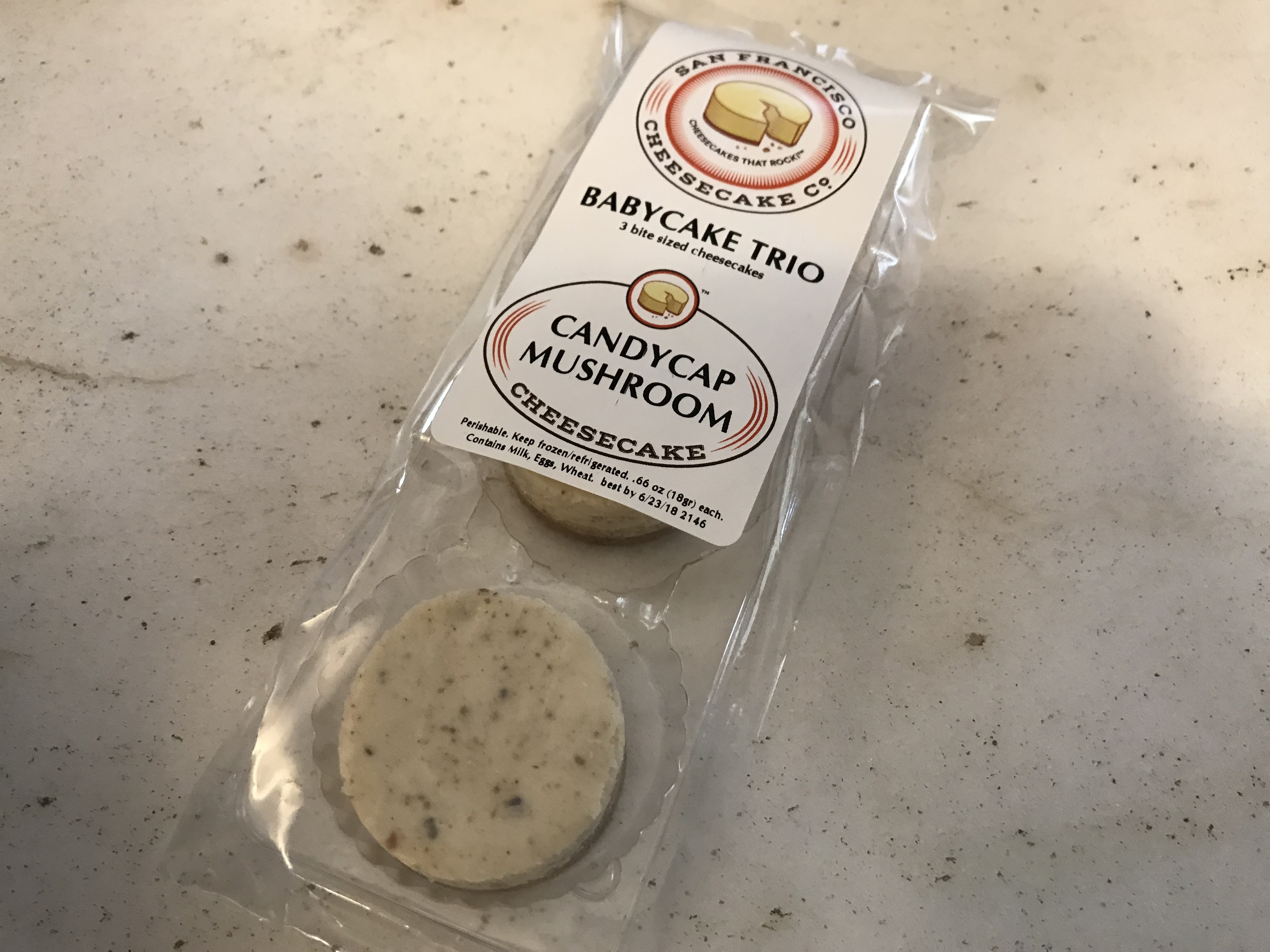 Shake, Rattle and Roll Over Kooky Cheesecake Flavors – CheeseQuakes! in San Francisco, California