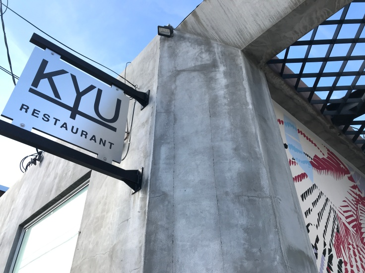 KYU Restaurant in Miami, Florida