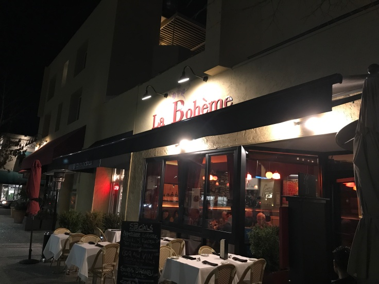 La Bohème in Palo Alto, California