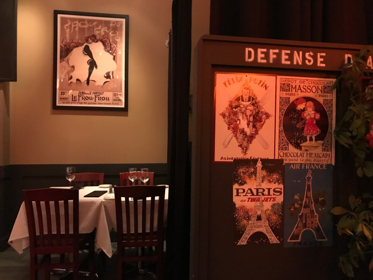 You, Me and Oui - The Tables Are Set for Romance at La Bohème in Palo Alto, California