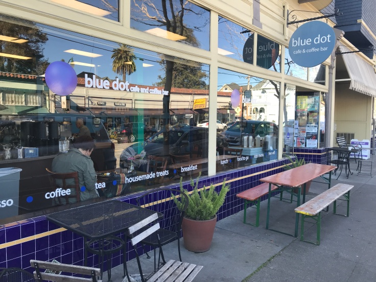 Blue Dot Café & Coffee Bar in Alameda, California