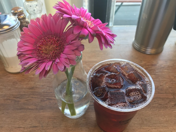 The Main Squeeze at Blue Dot Café & Coffee Bar in Alameda, California - Homemade Pomegranate Lemonade