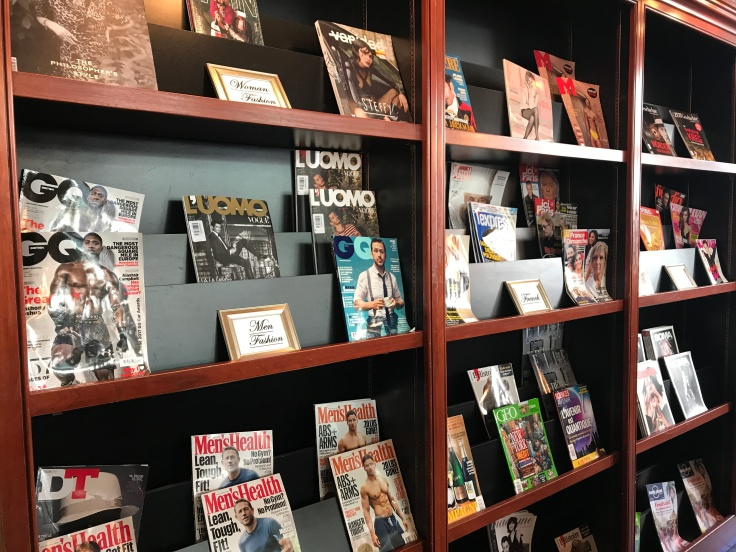 Hot off the Press - The Newsstand at Café de la Presse Offers Over 500 International Titles for Purchase